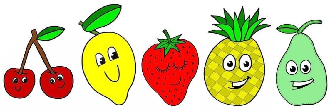 Kleuren Op Nummer Voor Kinderen Kleurplaten Fruit In 2020 Met