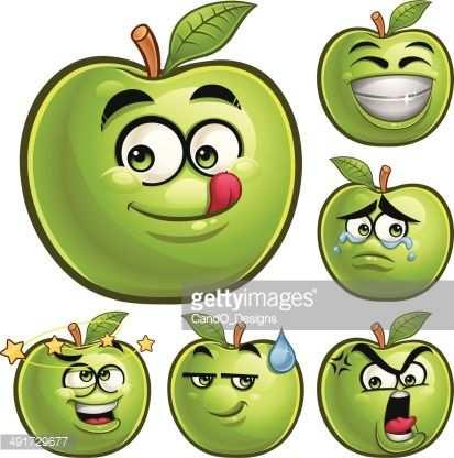 Fruits Granny Face Logo Recherche Google Fruit Cartoon Best
