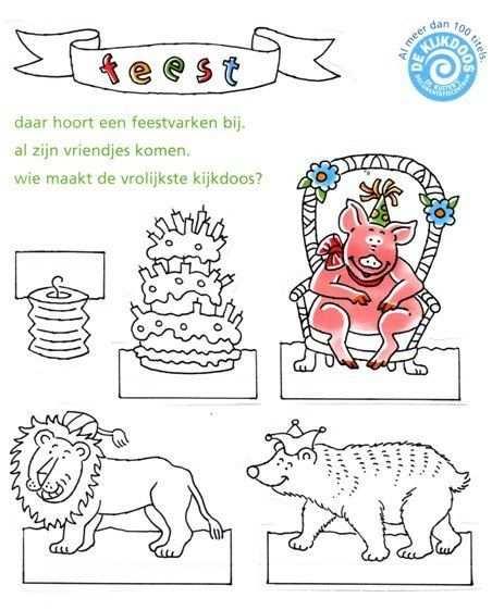 Birthday In A Box Knutselideeen Feestje En Werkjes