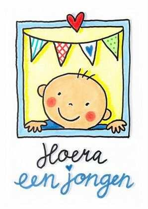 Felicitatie Geboorte Dochter Of Zoon Kaartje2go Knutselen