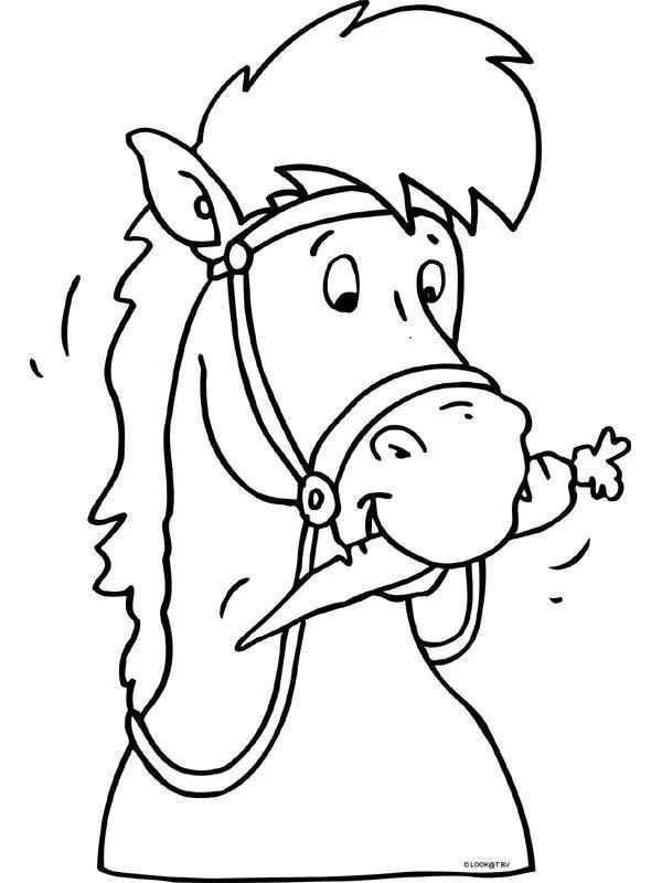Paard Voor Paardenmuts Kleurplaten Sinterklaas Knutselen