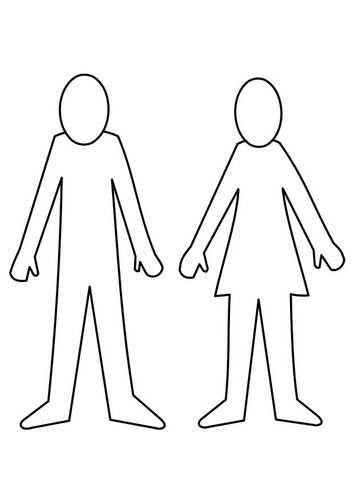 Kleurplaat Man En Vrouw Met Afbeeldingen Kleurplaten Gratis