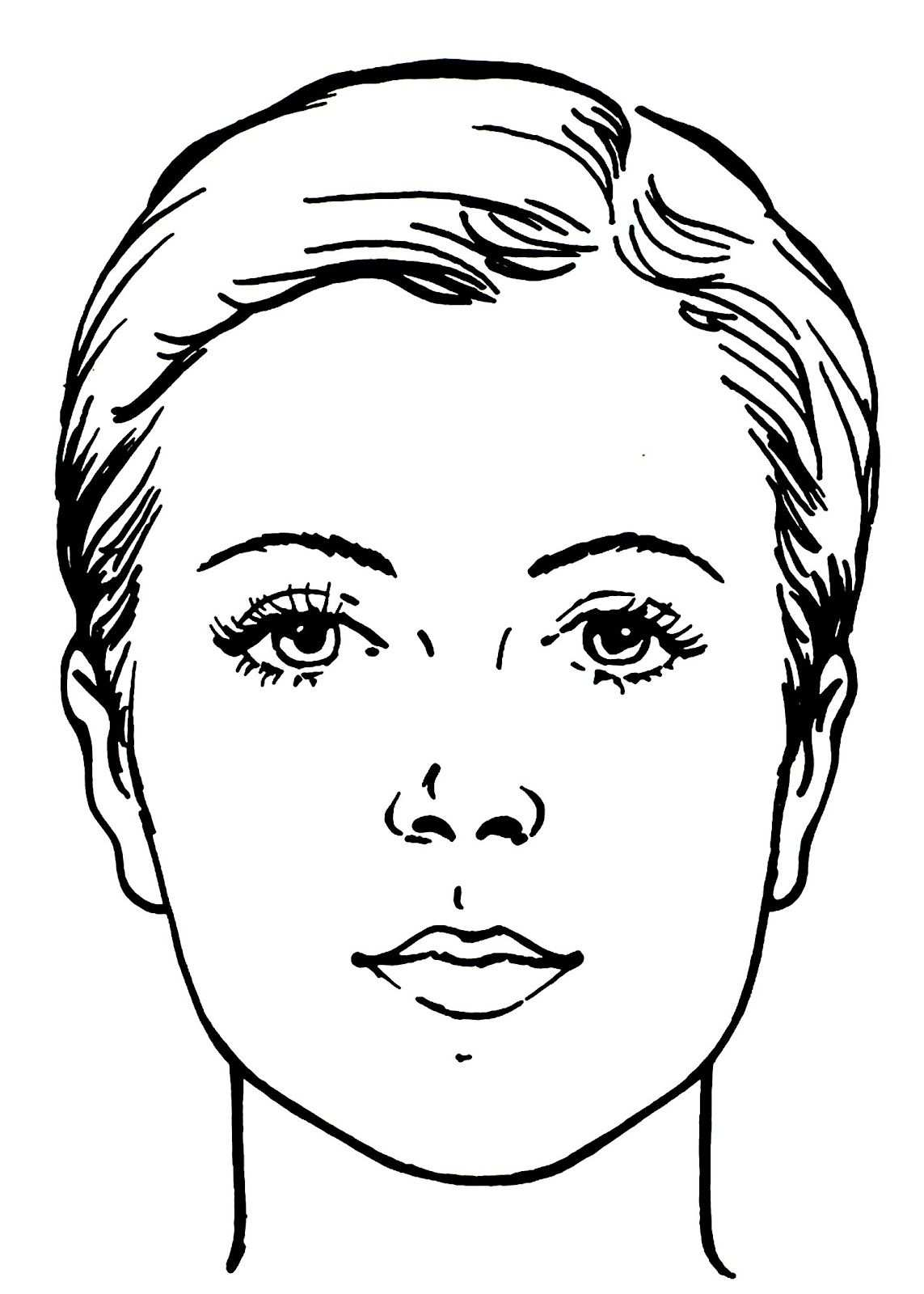 Blanco Facecharts To Create Makeup Looks On Paper Great For