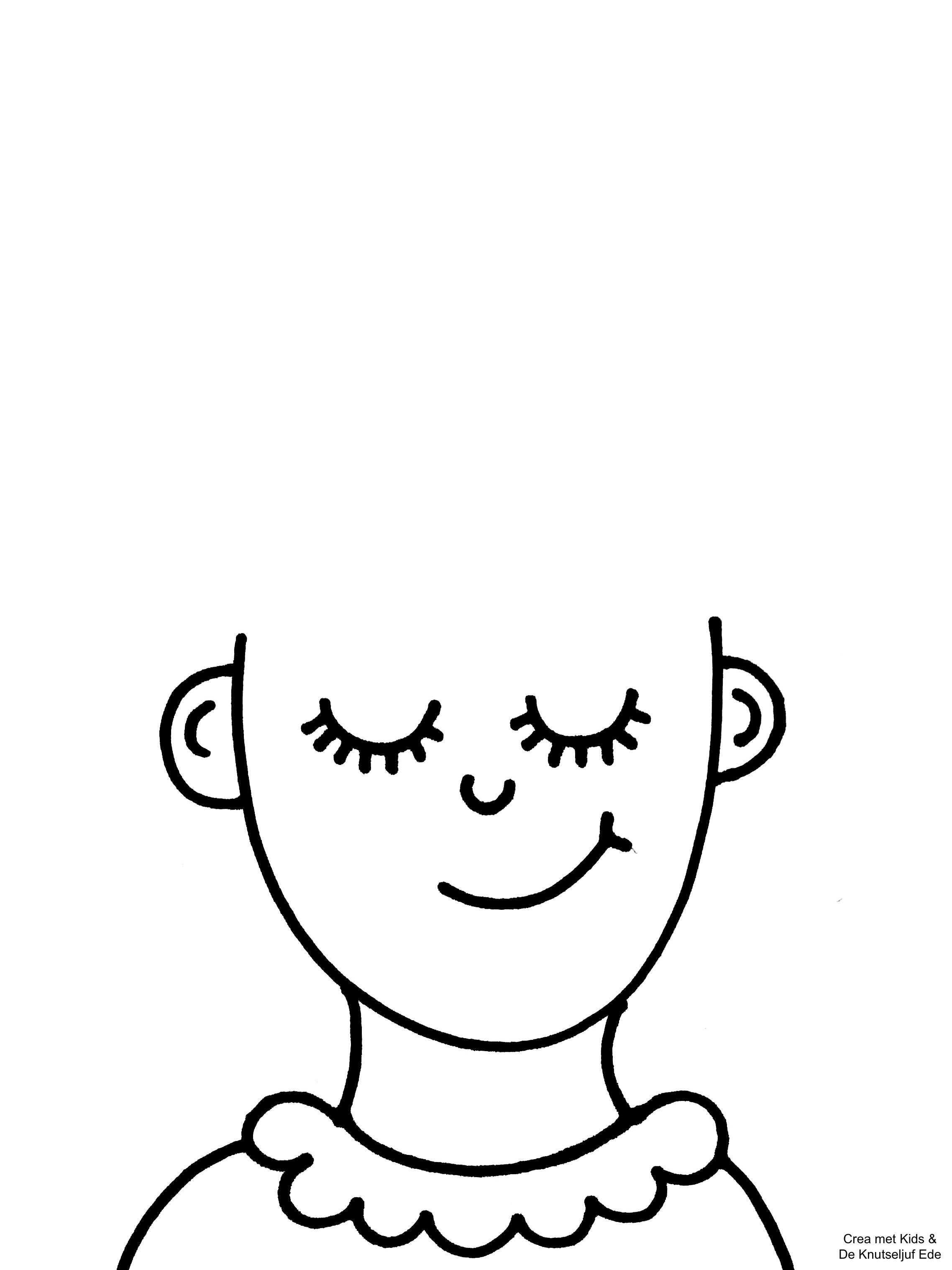 Kleurplaten Waar Is Mijn Haar In 2020 Kinderkunst Activiteiten