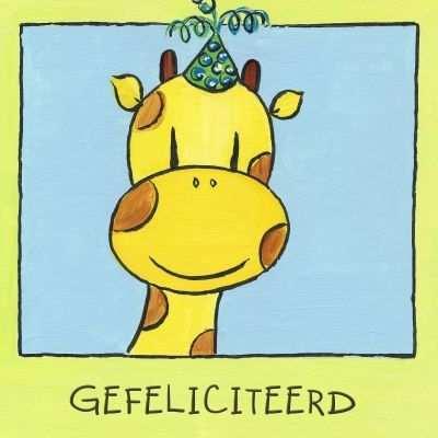 Giraf Jarig Google Zoeken Gefeliciteerd