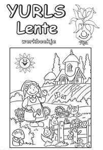 Yurls Werkboekjes Werkboekjes Yurls Net Groep 5 6 Lente Pasen