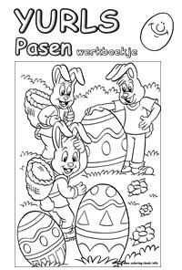 Werkboekjes Werkboekjes Yurls Net Pasen Kleurplaten Thema
