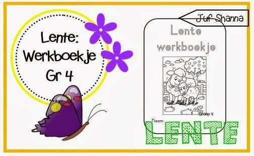 Lente Werkboekje Voor Groep 4 Thema Knutselen Lente Activiteiten
