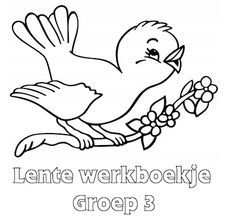 Contraactwerk Werkboekje Lente Groep 3 Eerste Leerjaar