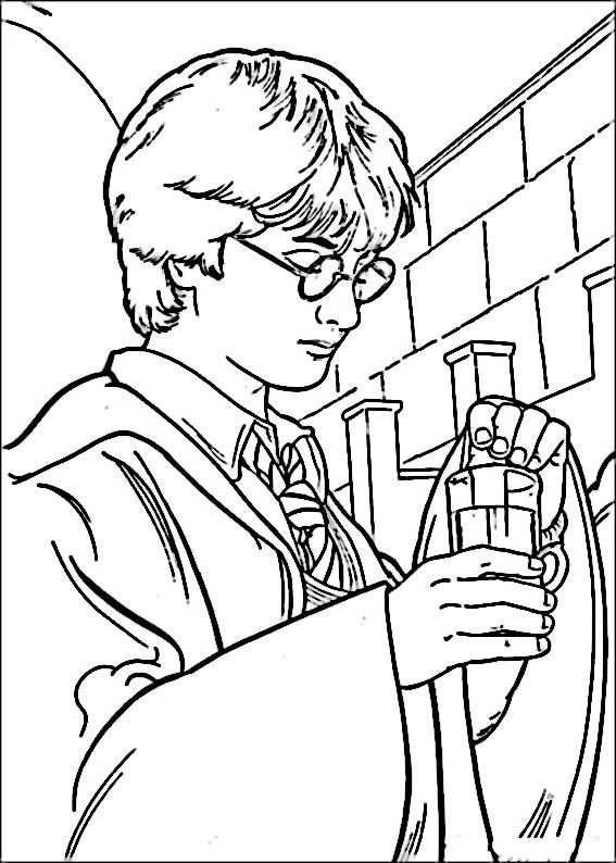 Harry Potter Coloring Pages 13 Coloriage Coloriage Harry Potter