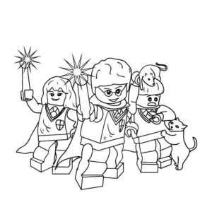 Lego Harry Potter Coloring Pages Coloring Pages Harry Potter