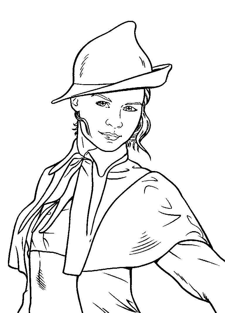 122 Jpg 768 1067 With Images Harry Potter Coloring Pages