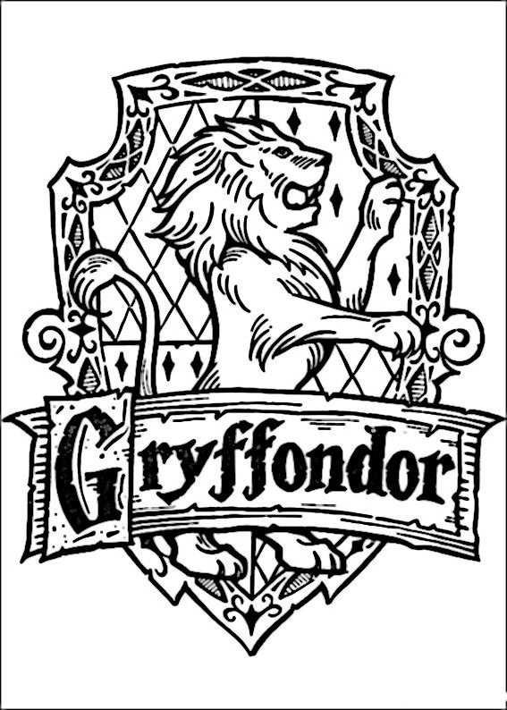 Kleurplaat Kleurplaten Harry Potter 58 Con Immagini Harry