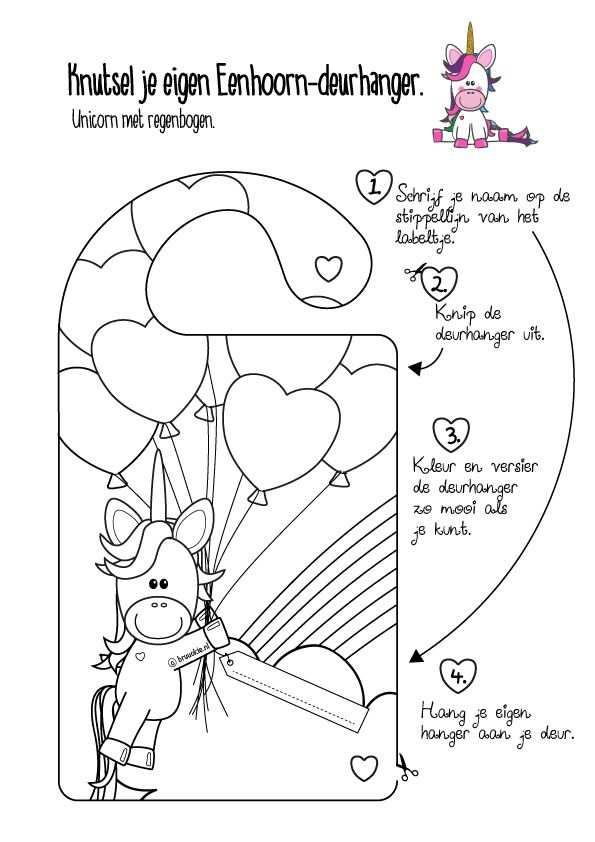 kleurplaat hartjes ballon