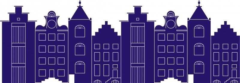 Hollandse Huisjes Met Afbeeldingen Huisjes Holland Stickers