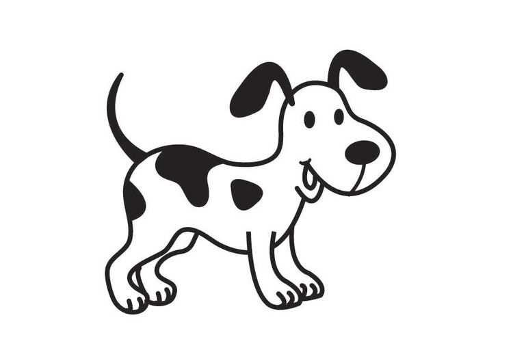 Kleurplaat Hond Huisdieren Tekenen Hond Tekeningen Honden