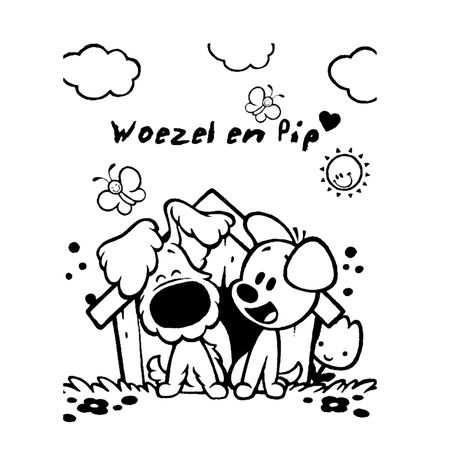 Leuk Voor Kids Kleurplaat Met Afbeeldingen Hondenhok