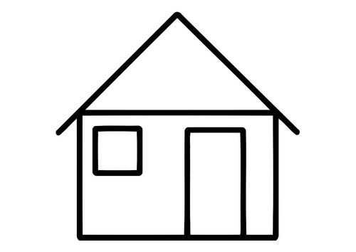 Kleurplaat Huis Met Afbeeldingen Kleurplaten Gratis