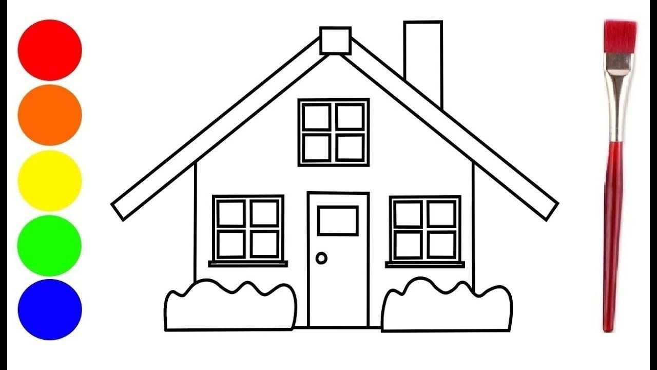 Kleurplaat Souwtje Het Huis Op Het Eiland Kleurplaten