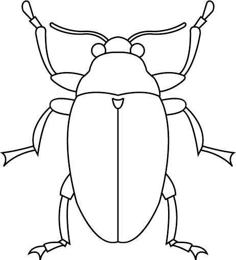 Dieren Kleurplaten Printen 206 Kunst Met Insecten Kleurplaten