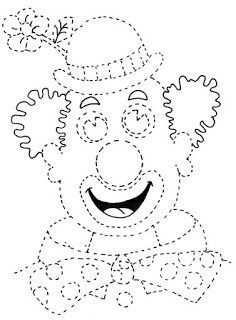 Afbeeldingsresultaat Voor Kleurplaat Clown Handstand Clown