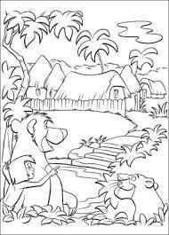 Afbeeldingsresultaat Voor Kleurplaat Jungle Book Coloring Books