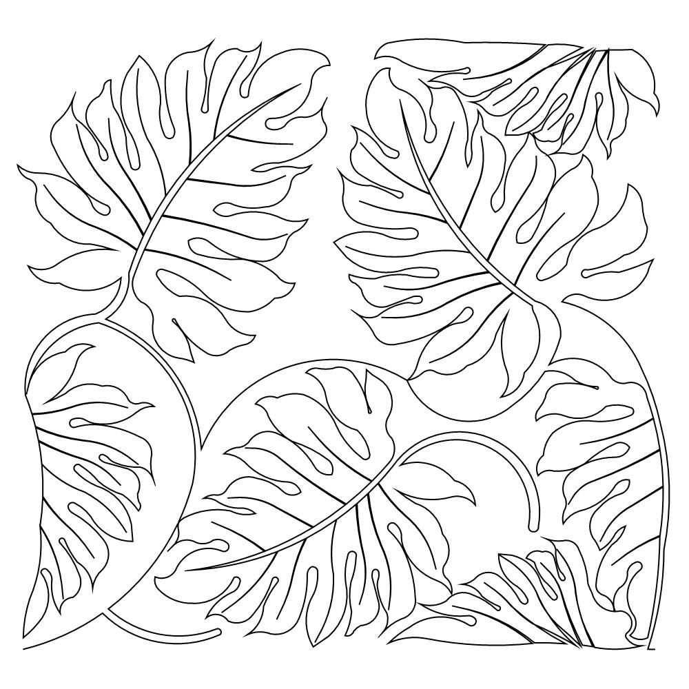 Jungle Patterns Google Search Kleurplaten Waterverf Bladeren