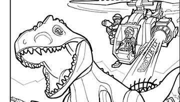 Lego Jurassic Park Coloring Pages Lego Kleurplaten Kleurplaten