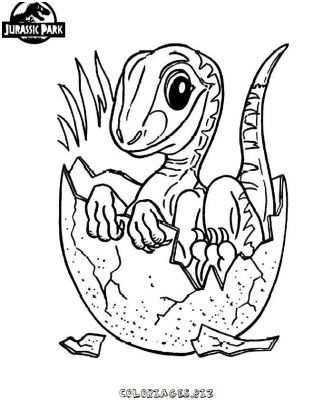 Jurassic Park Coloriagejurassic Dinosaur Coloring Pages Animal