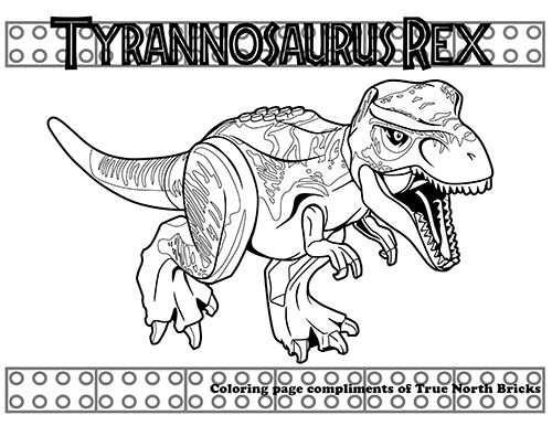 Jurassic World Met Afbeeldingen Kleurplaten Tekenen Thema