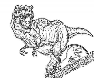 Printable Jurassic Park 13 Coloring Page Coloring Pages