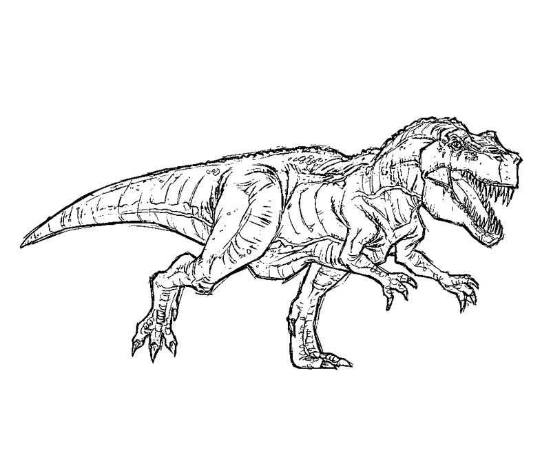 Free T Rex Coloring Pages Jurassic Park T Rex Coloring Pages
