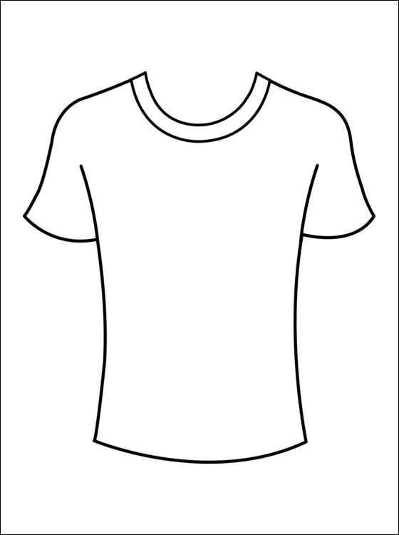 Kleurplaat T Shirts Gratis Kleurplaten Met Afbeeldingen