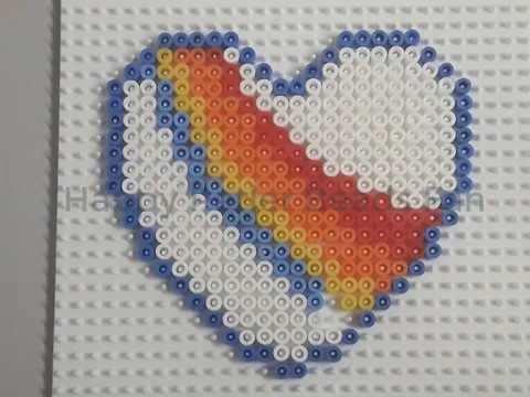K3 Hartje Pareltjes Strijkkralen Happy Perler Beads Fan Youtube