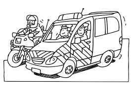 Afbeeldingsresultaat Voor Kleurplaat Verkeer En Vervoer Politie