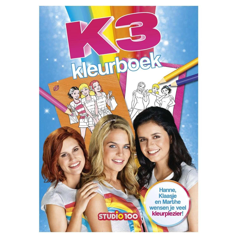 K3 Kleurboek Kleurboek Kleurplaten En Hoes