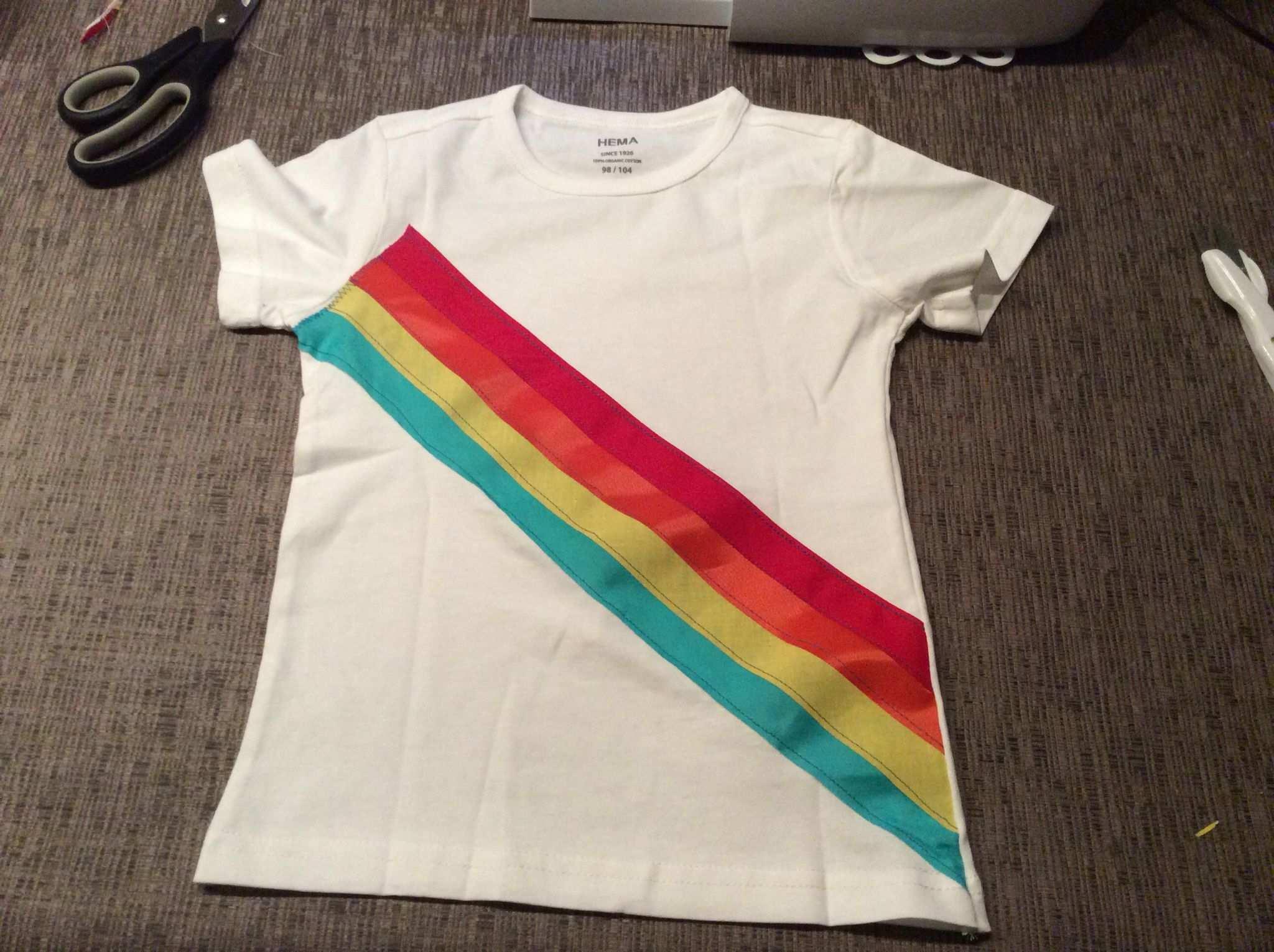 K3 Regenboog Shirt Voor Jongen Carnaval Zelfgemaakt En Traktaties