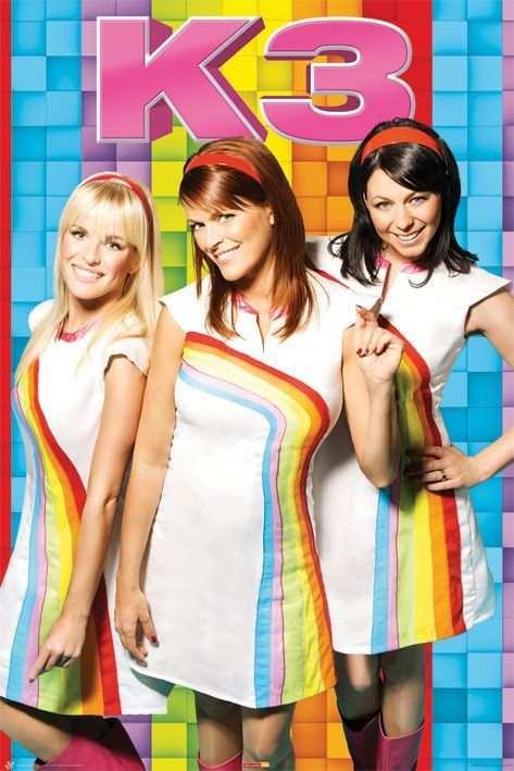 K3 Regenboog Poster Op Deze Poster Zie Je De Meiden Karen