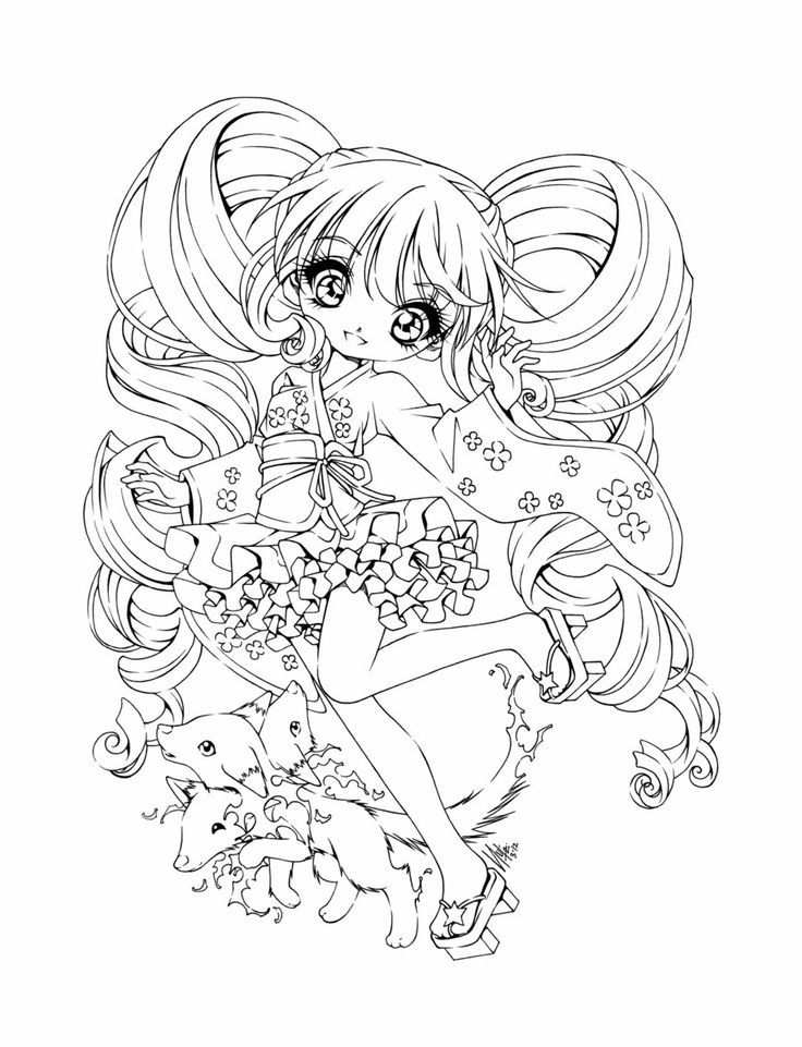 Meisjes Kleurplaten With Images Chibi Coloring Pages Cool