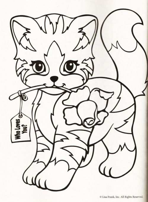 Kleurplaat Poes Roos With Images Cat Coloring Page Coloring