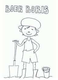 Kleurplaat Boer Boris Google Zoeken Kinderboerderij Boerderij