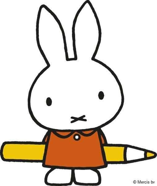 Miffy Pen Borduren Nijntje Kleurplaten En Kawaii