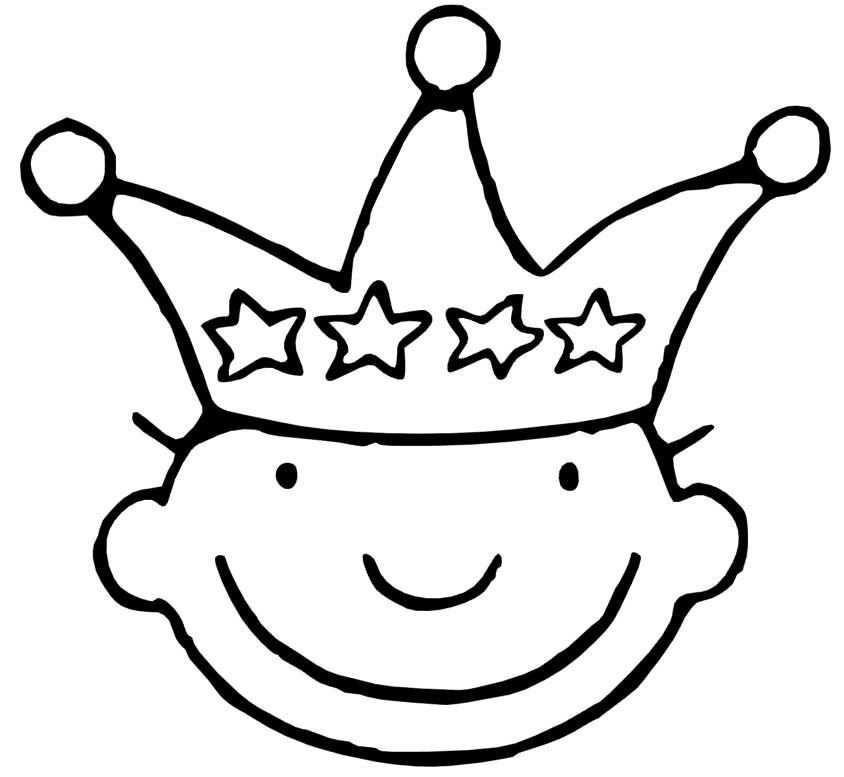 Kroon Jules 4 Kleurplaten Thema Verjaardagskalender