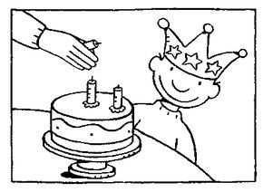 Kleurplaat Een Kroon Van Jules Kleurplaten Thema Verjaardag
