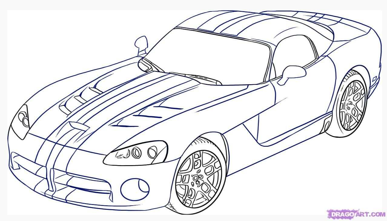 Car Pictures To Color Car Drawings Coloring Pages Colorful