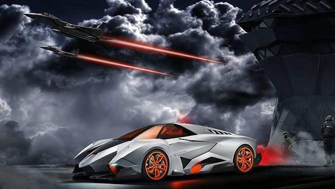 The Lamborghini Egoista The Maddest Bull Ever With Images