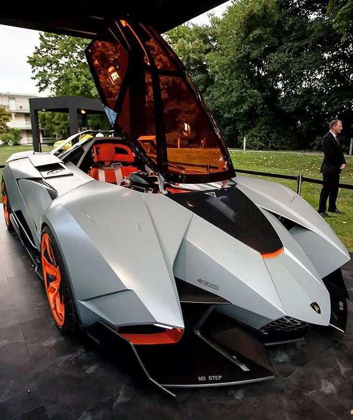 Lamborghini Egoista Luxurycars Futuristic Cars Sports Cars