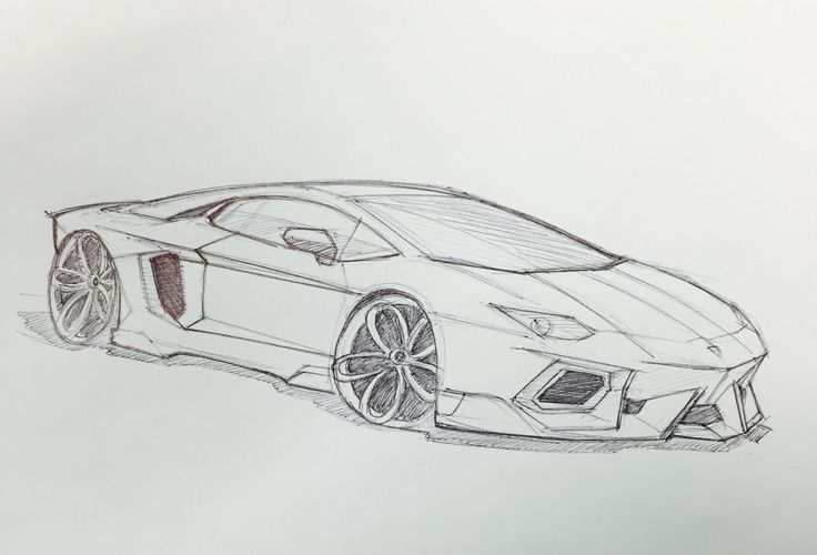 Lamborghini Aventador Sketch Open Lamborghini Real Account Here