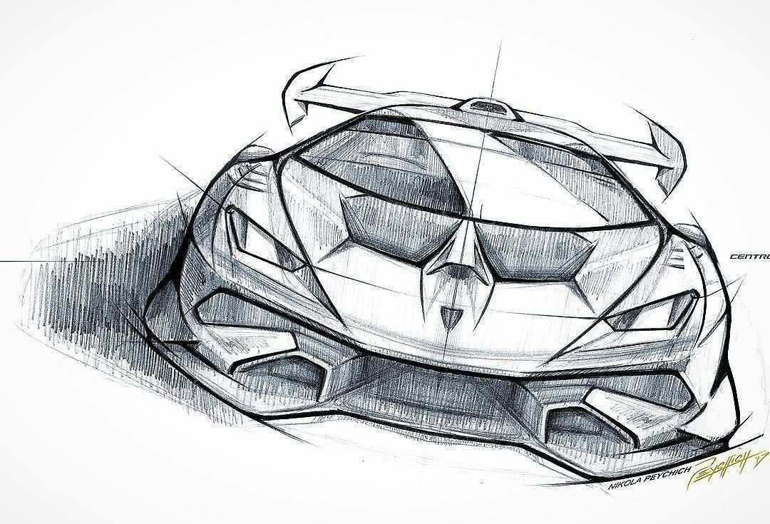 Huracan Supertrofeo Sketch By Peychich Nikola