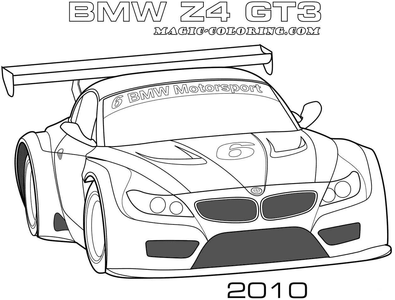 Transportation Coloring Pages Bmw Cars Coloring Pages Bmw Z4